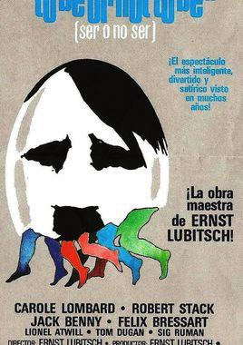 Cartel oficial en español de: Ser o no Ser