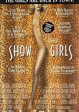 "Cartel ""Showgirls"" norteamericano DVD 2"