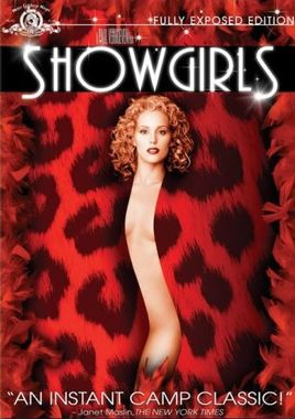 "Cartel ""Showgirls"" norteamericano DVD"