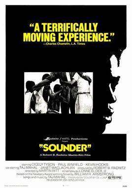 Cartel oficial en español de: Sounder