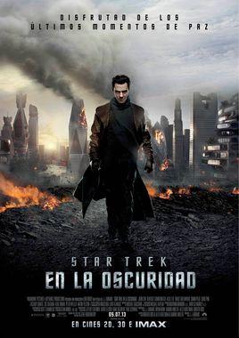 Cartel oficial en español de: Star Trek: En la oscuridad