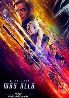 Cartel oficial en español de: Star Trek: Más allá