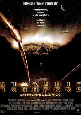 Cartel oficial en español de: Starship Troopers (Las brigadas del espacio)