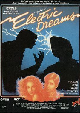 """Cartel """"Sueños eléctricos"""" francés"""