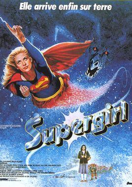 """Cartel """"Supergirl"""" francés"""