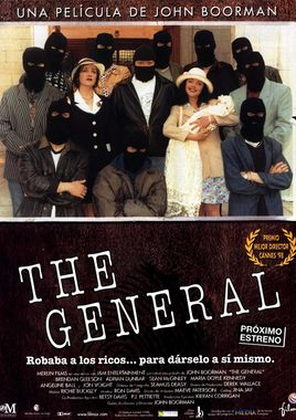 Cartel oficial en español de: The General