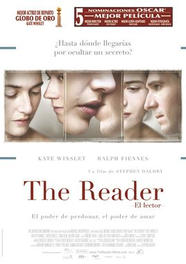 Cartel oficial en español de: The Reader (El lector)