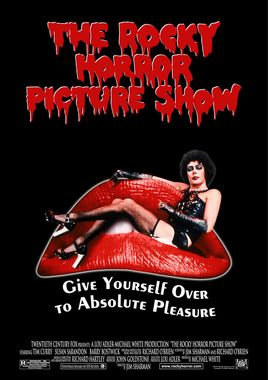 Cartel oficial en español de: The Rocky Horror Picture Show