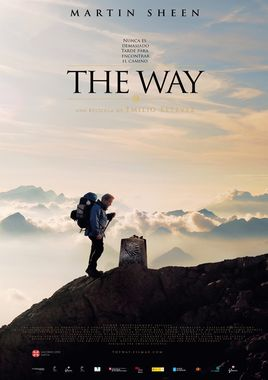 Cartel oficial en español de: The way
