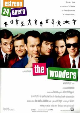 Cartel oficial en español de: The Wonders