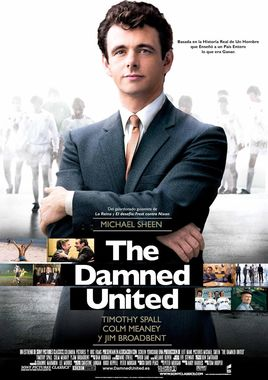 Cartel oficial en español de: The Damned United