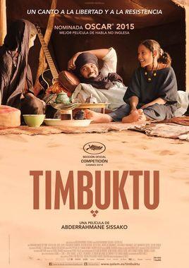 Cartel oficial en español de: Timbuktu