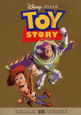 """Cartel """"Toy Story (Juguetes)"""" norteamericano DVD"""
