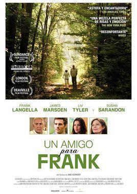Cartel oficial en español de: Un amigo para Frank