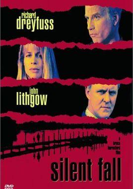 """Cartel """"Un testigo en silencio"""" norteamericano DVD"""