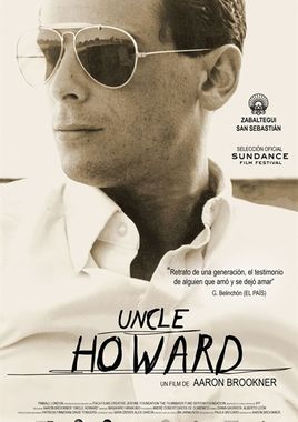 Cartel oficial en español de: Uncle Howard