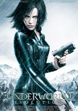 Cartel oficial en español de: Underworld: Evolution