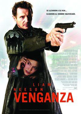 Cartel oficial en español de: Venganza