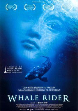 Cartel oficial en español de: Whale Rider