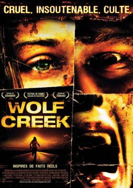 "Cartel ""Wolf Creek"" francés"