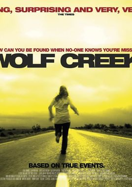 "Cartel ""Wolf Creek"" inglés"