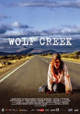"Cartel ""Wolf Creek"" italiano"