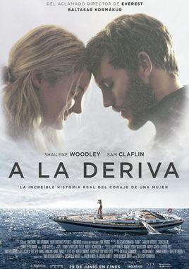 Cartel oficial en español de: A la deriva