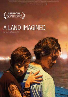 Cartel oficial en español de: A Land Imagined