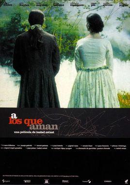 Cartel oficial en español de: A los que aman