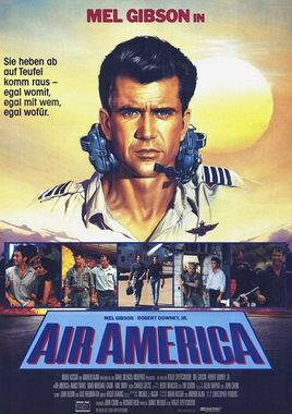 "Cartel de ""Air America"" alemán 2"