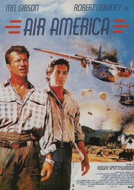 "Cartel de ""Air America"" francés"