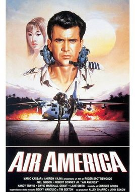 "Cartel de ""Air America"" italiano"