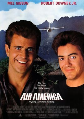 "Cartel de ""Air America"" norteamericano"