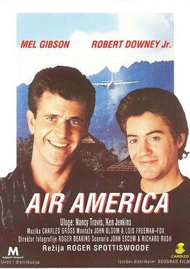 "Cartel de ""Air America"" serbio"