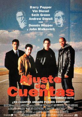 Cartel oficial en español de: Ajuste de cuentas