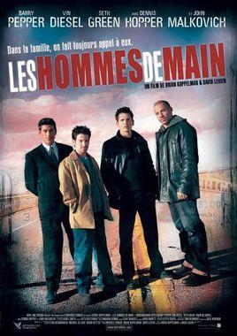 """Cartel """"Ajuste de cuentas (2001)"""" francés"""