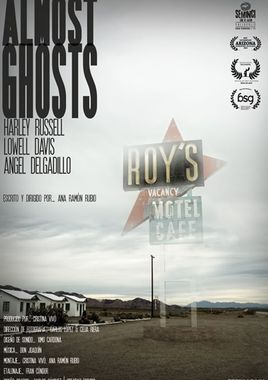 Cartel oficial en español de: Almost Ghosts