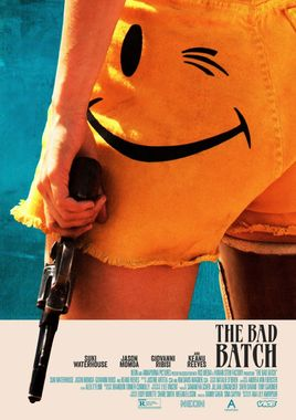 Cartel oficial en español de: Amor carnal (The Bad Batch)
