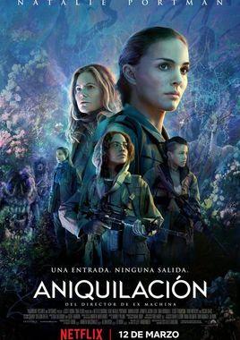Cartel oficial en español de: Aniquilación