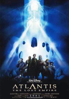 """Cartel """"Atlantis: El imperio perdido"""" norteamericano"""
