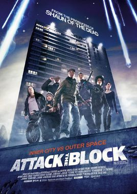 "Cartel ""Attack The Block"" inglés"