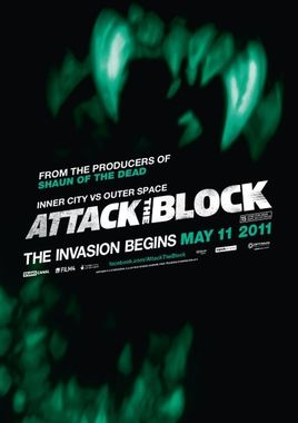 "Teaser Cartel ""Attack The Block"" inglés"