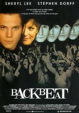 Cartel oficial en español de: Backbeat