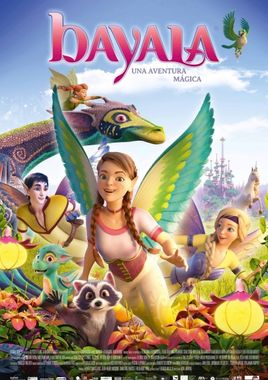 Cartel oficial en español de: Bayala, una aventura mágica