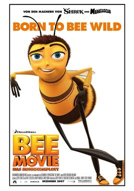 "Cartel ""Bee Movie"" alemán"