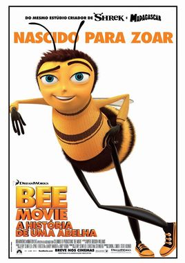 "Cartel ""Bee Movie"" brasileño"