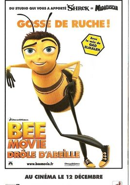 "Cartel ""Bee Movie"" francés"