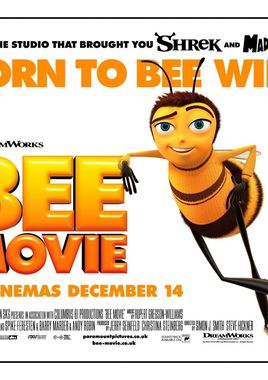 "Cartel ""Bee Movie"" inglés"