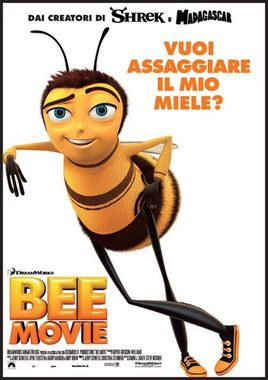 "Cartel ""Bee Movie"" italiano"