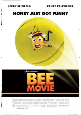 "Cartel ""Bee Movie"" norteamericano"